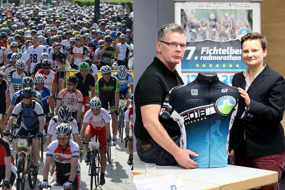 Fichtelberg-Marathon lockt Radler aus ganz Deutschland