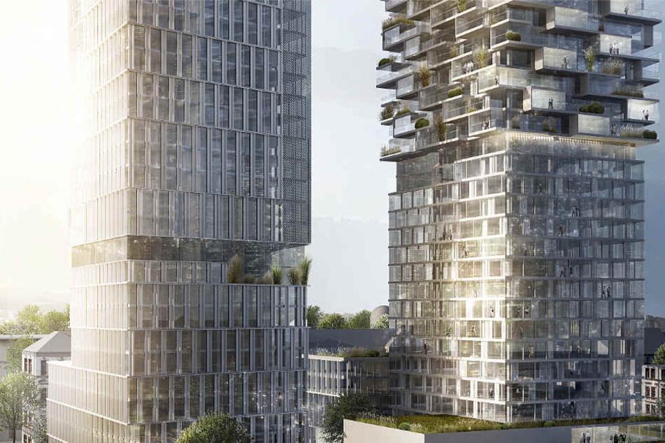 Wohnungsnot in Frankfurt: Doch gebaut werden Luxus-Apartments