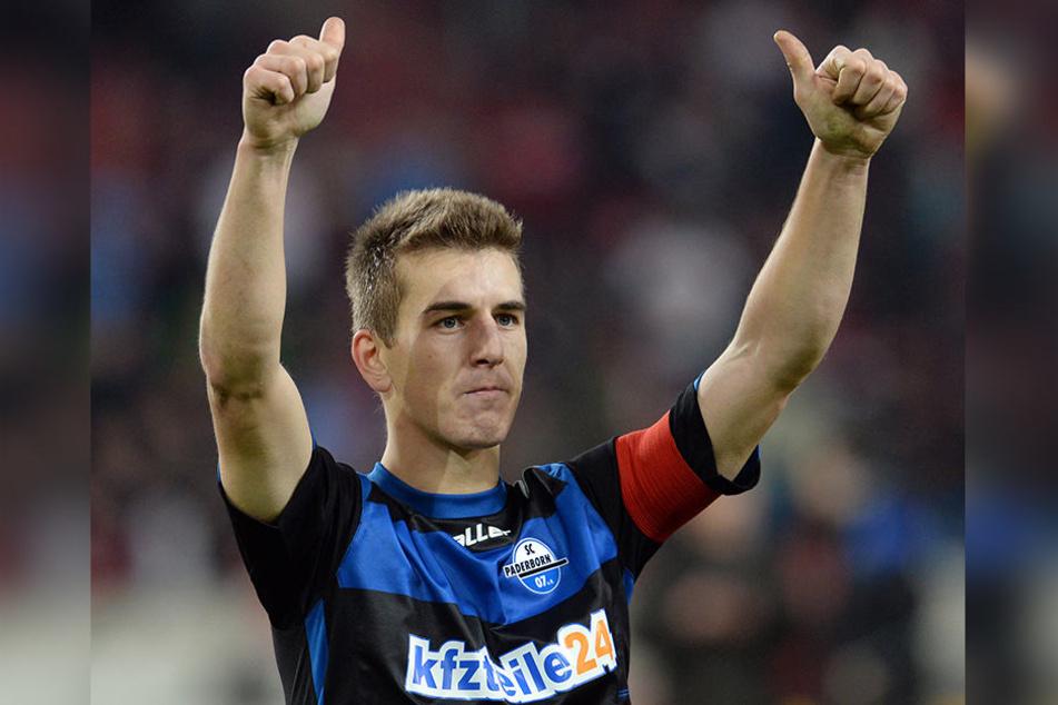 Für Uwe Hünemeier war der Aufstieg mit Paderborn 2014 der bisher größte Erfolg.