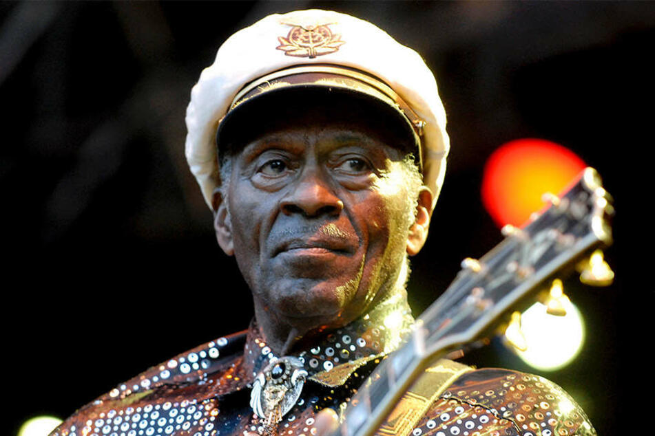 Chuck Berry starb jetzt im Alter von 90 Jahren.
