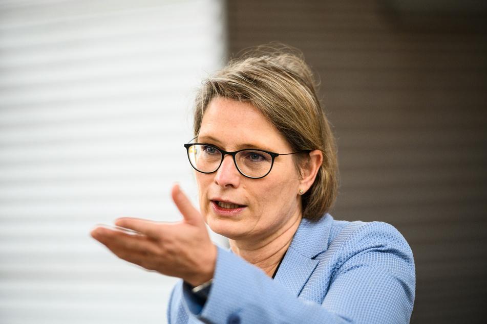 Stefanie Hubig (SPD) ist die Bildungsministerin von Rheinland-Pfalz.