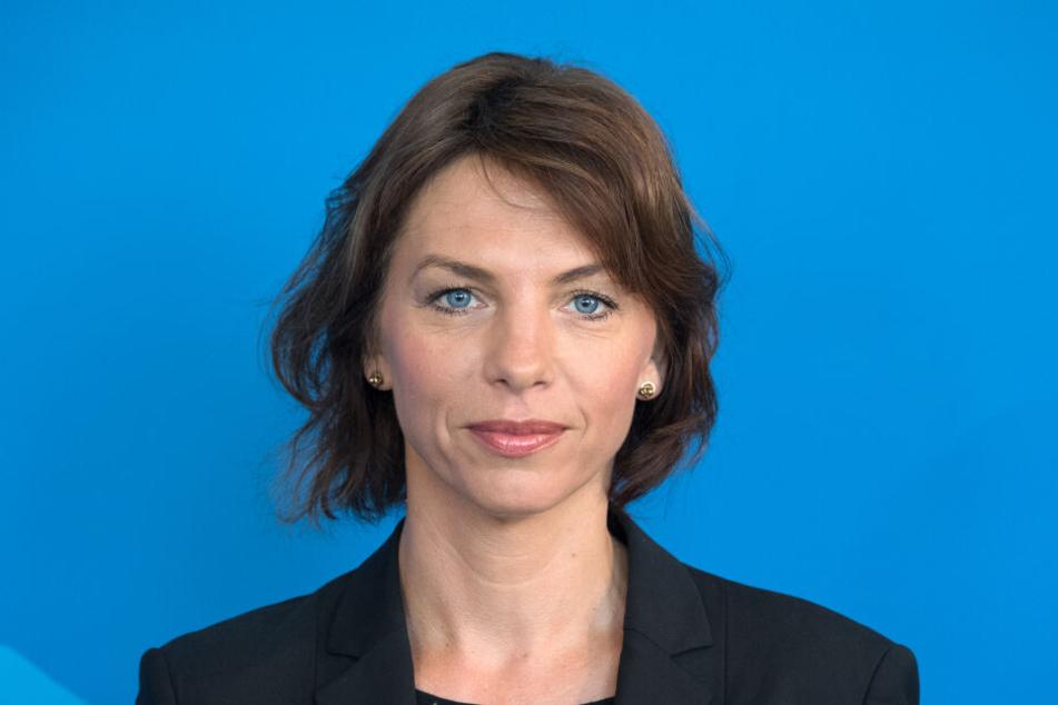 Brandenburgs Arbeitsministerin Susanna Karawanskij (38, Linke).