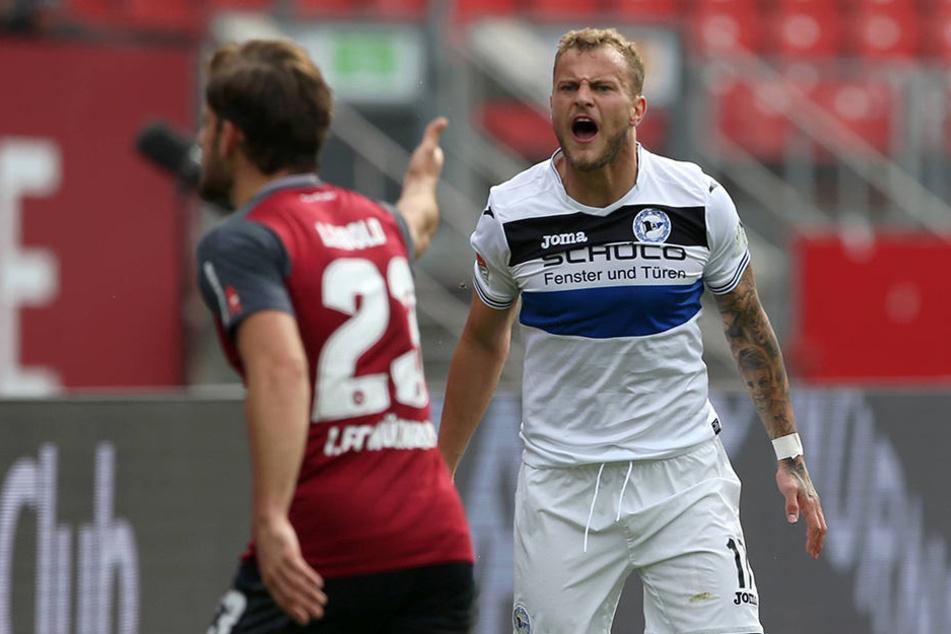 Christoph Hemlein gibt immer 100 Prozent auf dem Platz, seit 2014 ist er in Bielefeld.