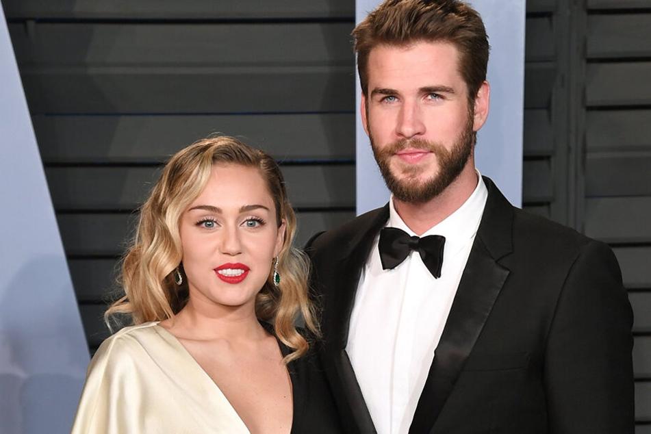 Miley und Liam im letzten Jahr bei der Vanity Vair Oscar Party in Beverly Hills.
