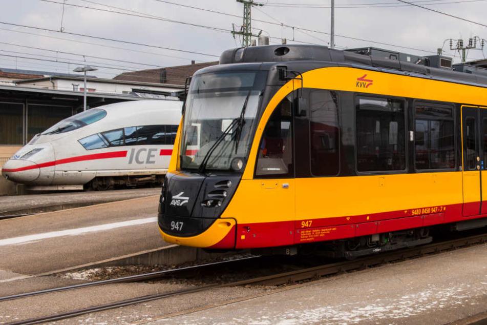 Seit Mittwochmorgen fahren auch sie wieder zwischen Rastatt und Baden-Baden: die Stadtbahnen.