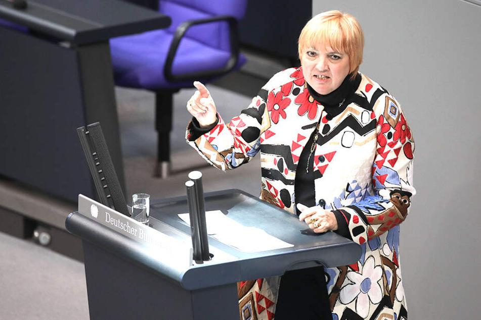 Claudia Roth (63) ist nicht nur Grünen-Poltikerin auch Bundestags-Vizepräsidentin.