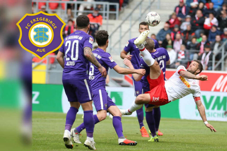 """Aue-Boss Leonhardt fordert Punkte vor Regensburg-Match: """"Müssen jetzt liefern!"""""""