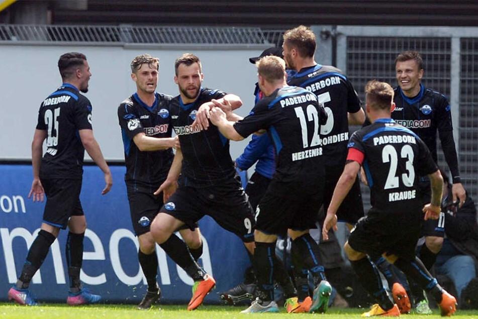 Gegen Zwickau schoss Joker Koen van der Biezen den Ausgleichstreffer für den SCP.