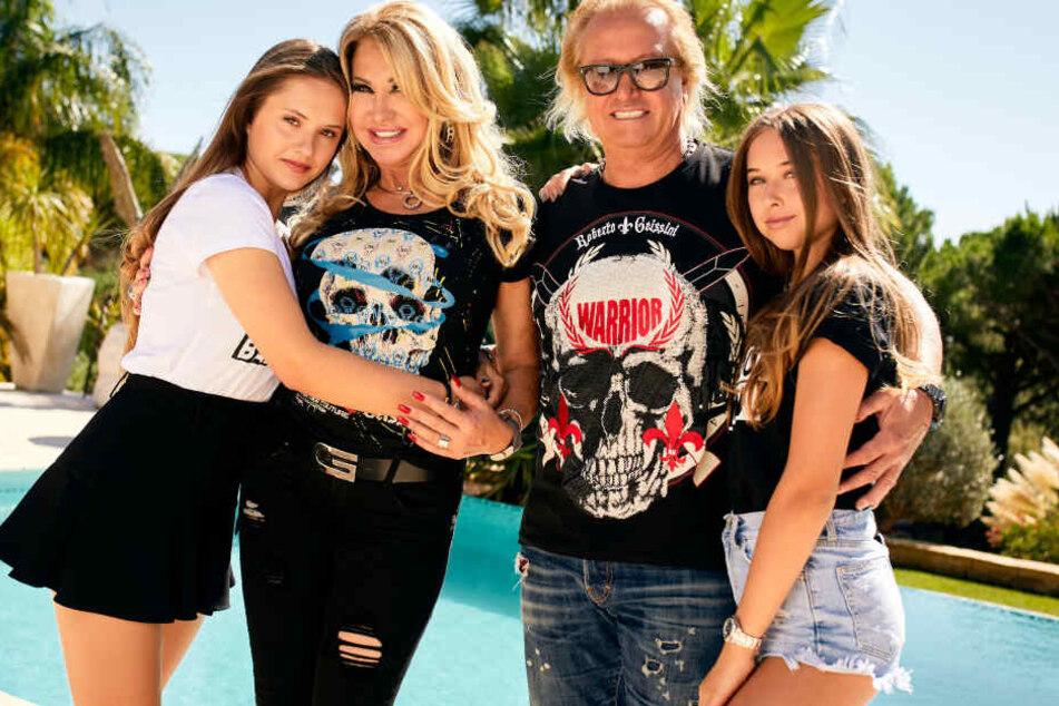 Die Geissens zurück: Papa Robert sorgt sich um seine Töchter