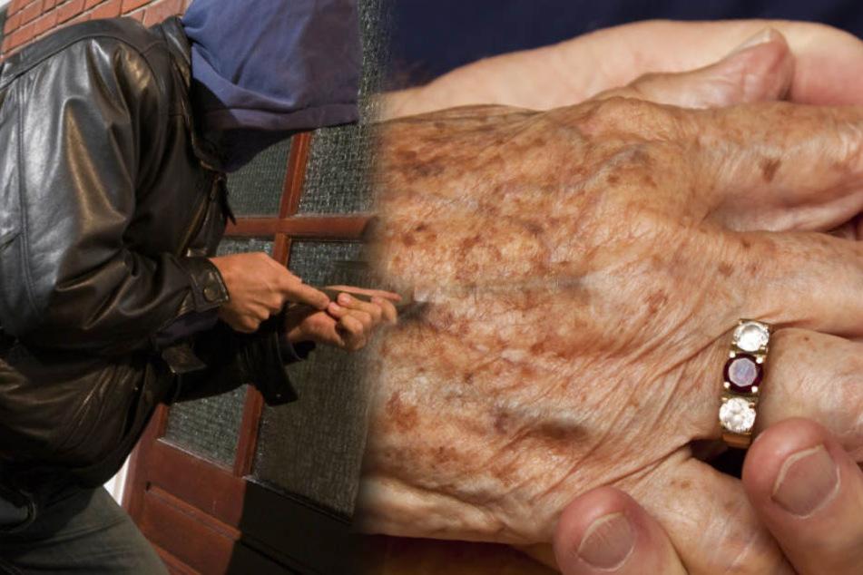 Einbrecher will behinderter Frau Ring klauen und schneidet ihr Hand ab