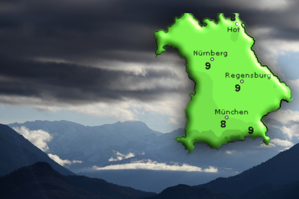 Herbstlich kühl: So wird das Wetter in Bayern
