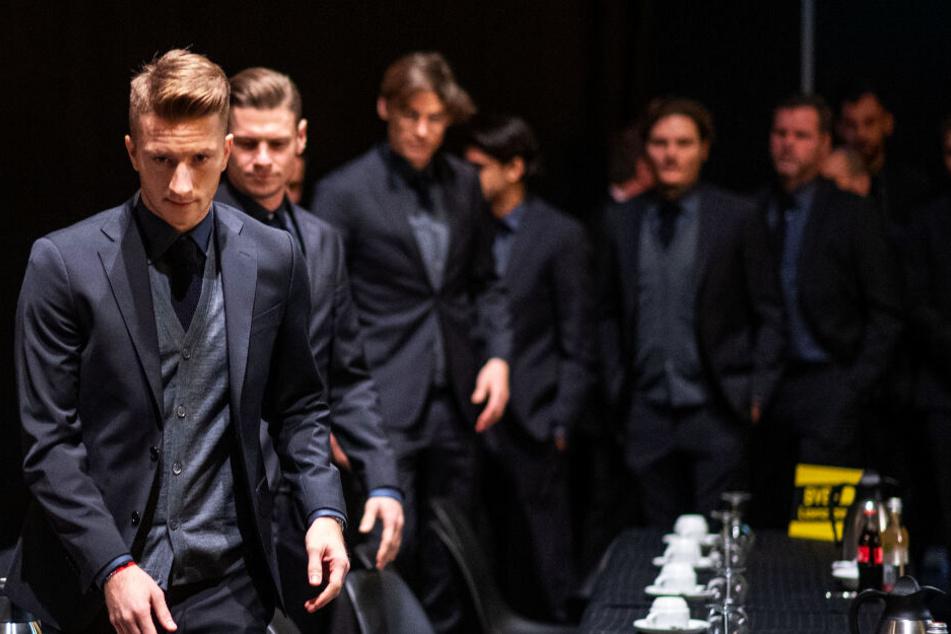 BVB-Kapitän Marco Reus sieht sich und die Mannschaft in der Pflicht, in den kommenden Spielen Wiedergutmachung zu machen.