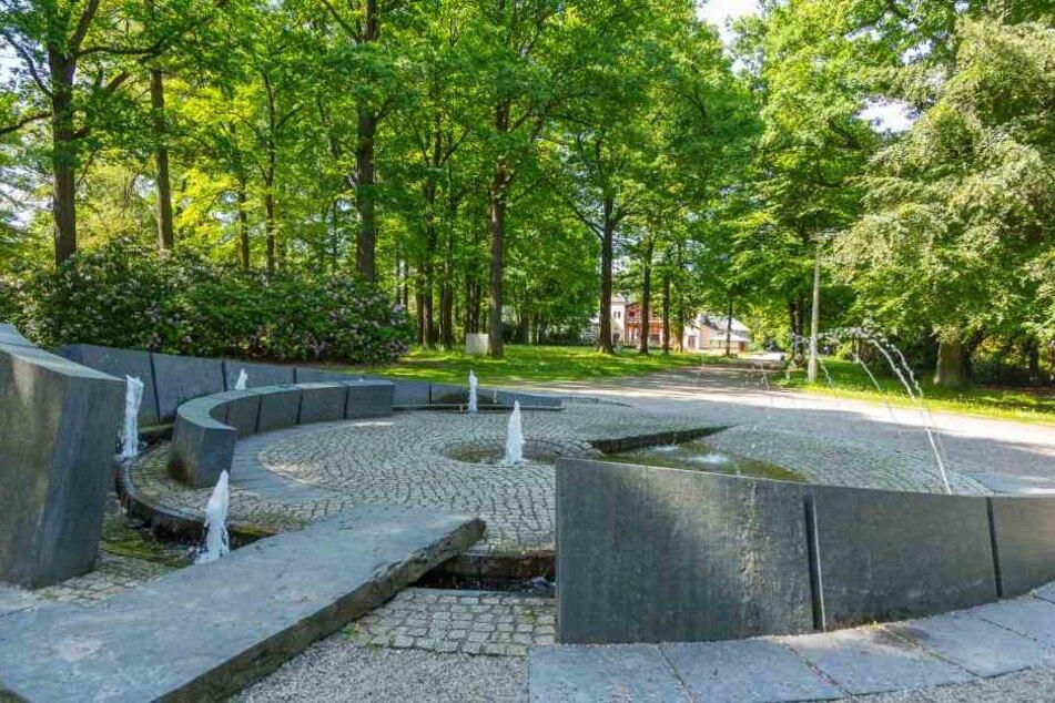Der Übergriff ereignete sich am Springbrunnen im Stadtpark.