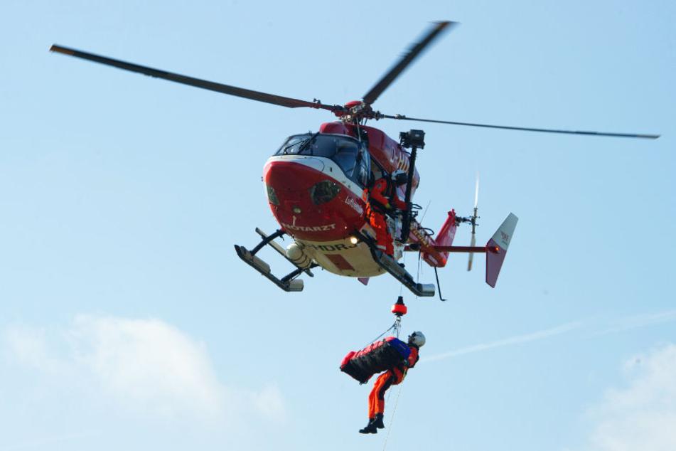 Jacht schlägt Leck: Segler mit Hubschrauber gerettet