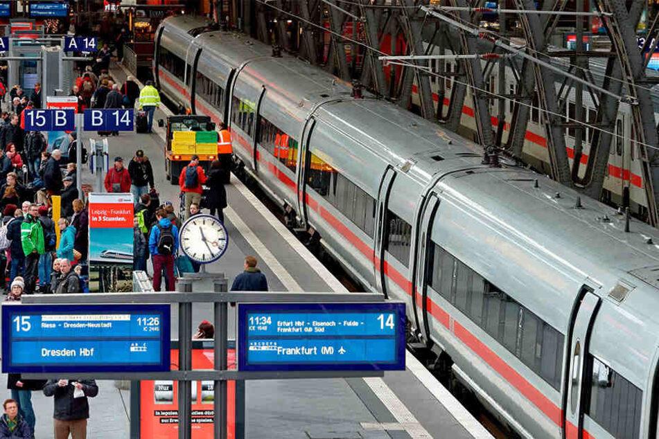 Hauptbahnhof Leipzig: Eines der sächsischen Bau-Großprojekte in diesem Jahr  ist der Knotenpunkt Leipzig.
