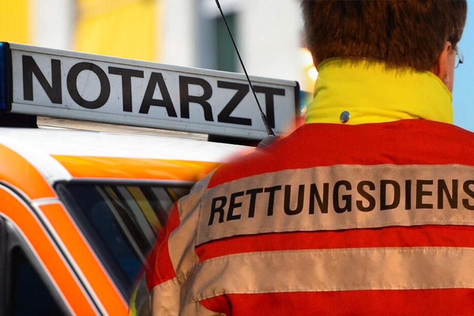 Unfall in Chemnitz: Kind (4) von Auto erfasst und schwer verletzt