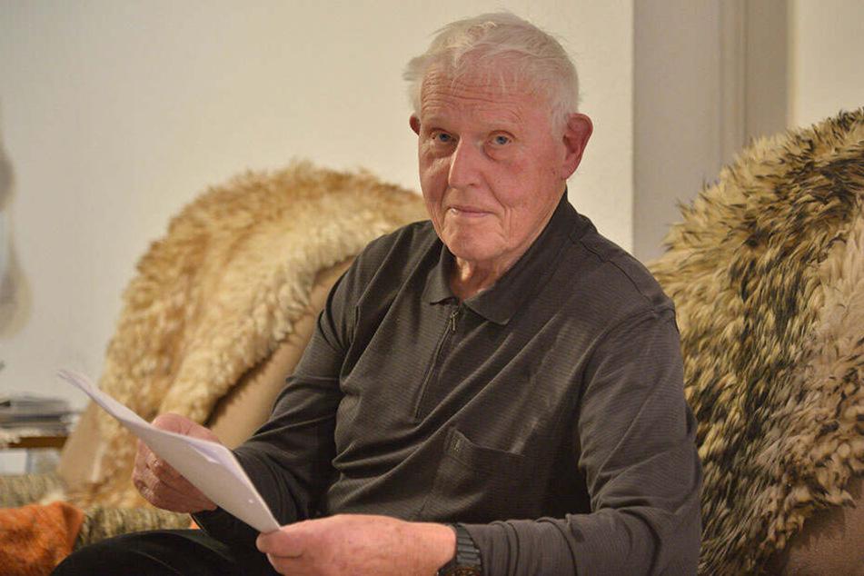 Chemnitz: Heinz (85) war auf der Suche nach der großen Liebe, doch er wurde abgezockt