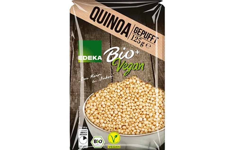 In einigen Tüten Quinoa ist gepuffter Weizen. Das Produkt wird zurückgerufen.