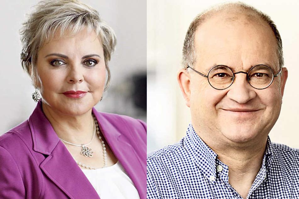 Veronika Bellmann (57) und CDU-Fraktions-Vize Arnold Vaatz (63).