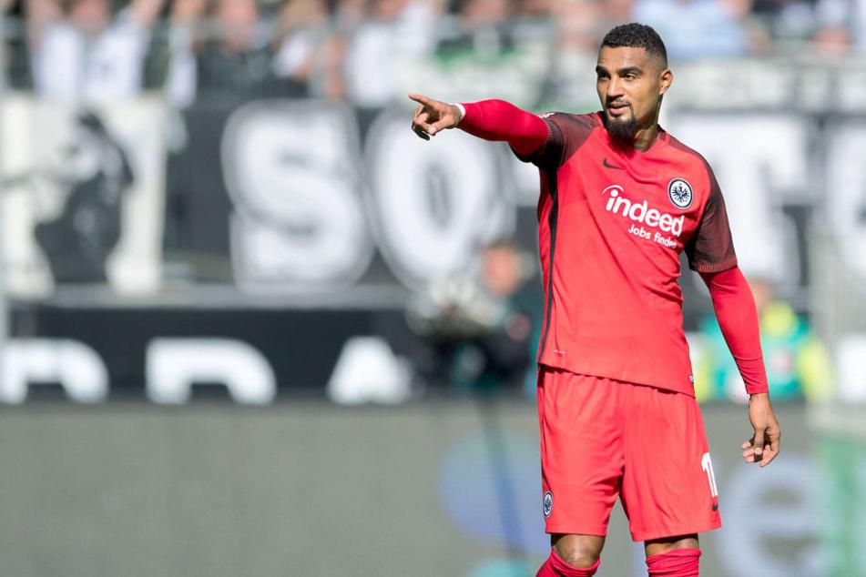 Für Kevin-Prince Boateng ist klar: Gegen Augsburg wird die Eintracht einen Dreier einfahren.