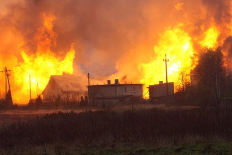 Arbeiter sollten Leck reparieren: Explosion einer Gas-Pipeline tötet fünf Menschen