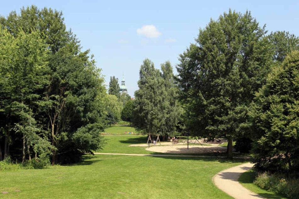 Der Aawiesenpark lockt neben Familien und Sportler auch Trinker an.