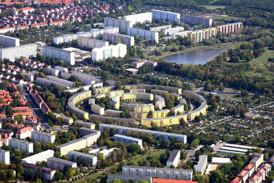 Curioso edificio con un total de 609 viviendas.
