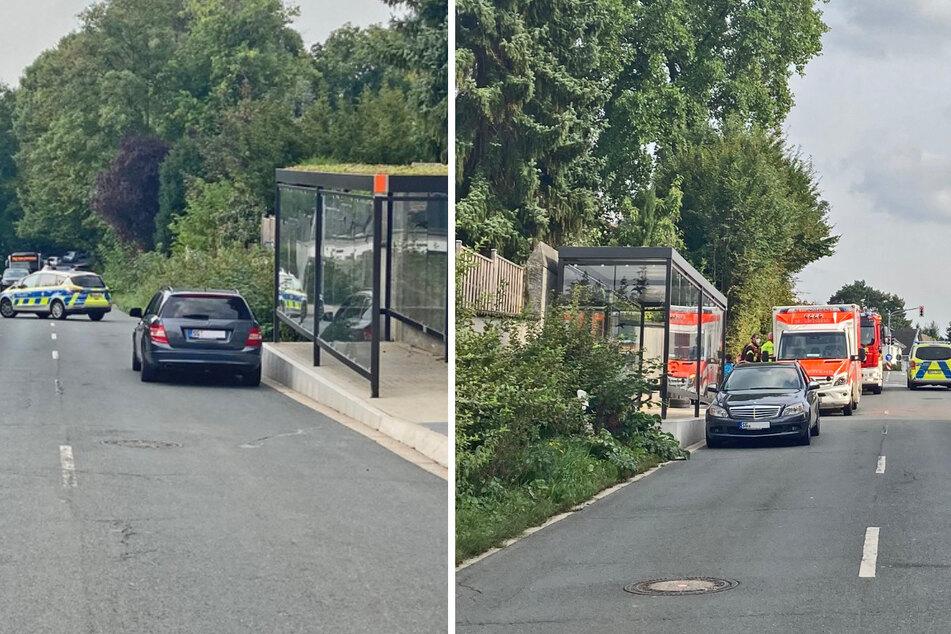 Der Unfall ereignete sich am Montagnachmittag auf der Ellscheider Straße in Haan.