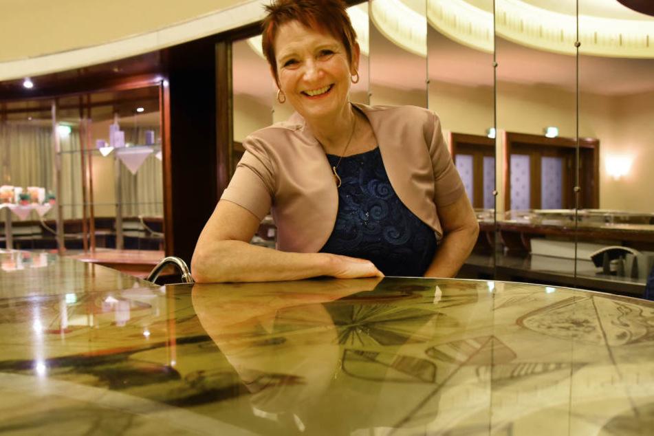 Birgit Heßler (60) hat das Leipziger Ring-Café mit ihrem Lebensgefährten neues Leben eingehaucht.