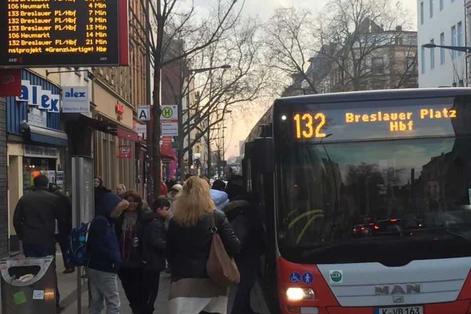 Die Stadt möchte den ÖPNV in Köln stärken (Symbolbild).