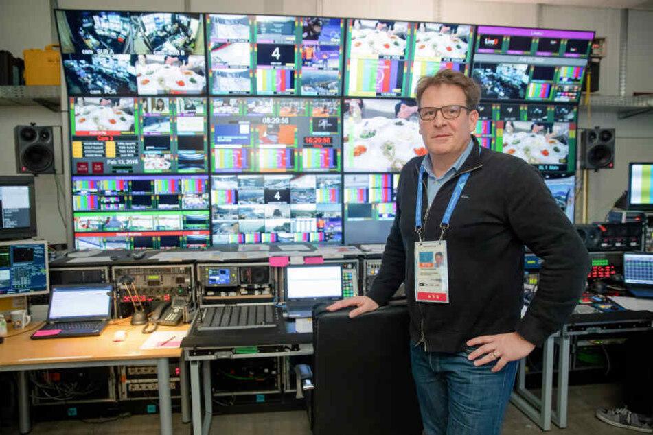 Eine Zusammenarbeit von ARD und ZDF gab es z. B. bei den Olympischen Spielen.