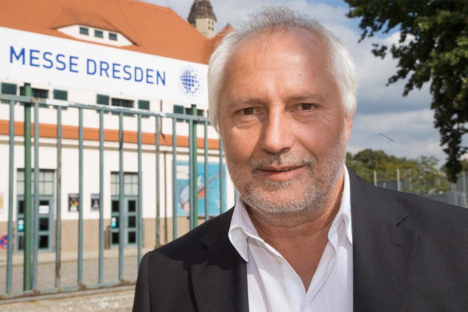 Schlossherr Ulrich Finger (62) sieht die Sanierung des Römischen Bades wegen der Fledermäuse in Gefahr.