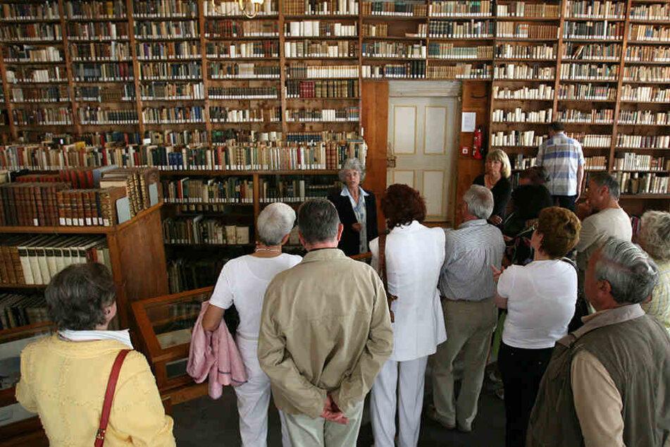 Die Gothaer Forschungsbibliothek.