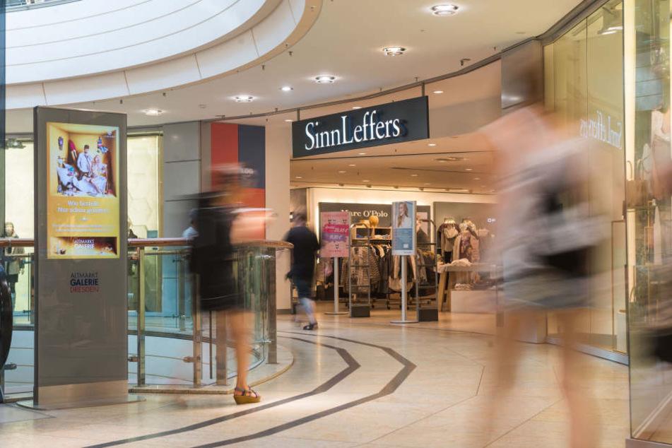 Bis auf weiteres bleibt die SinnLeffers-Filiale in der Altmarkt-Galerie  offen.