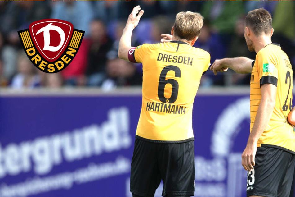 Dynamo verkommt zur Schießbude: Jetzt fehlt auch noch der Abwehrchef