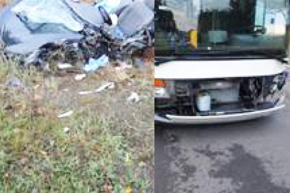Horror-Unfall: 18-Jähriger stirbt bei Zusammenstoß mit Linienbus
