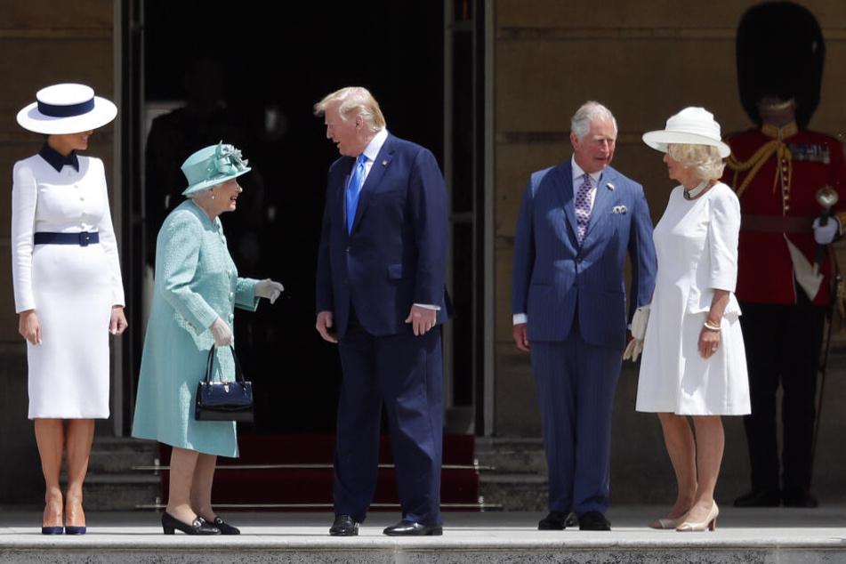 Trump bei den Royals: Konnte er sich dieses Mal benehmen?