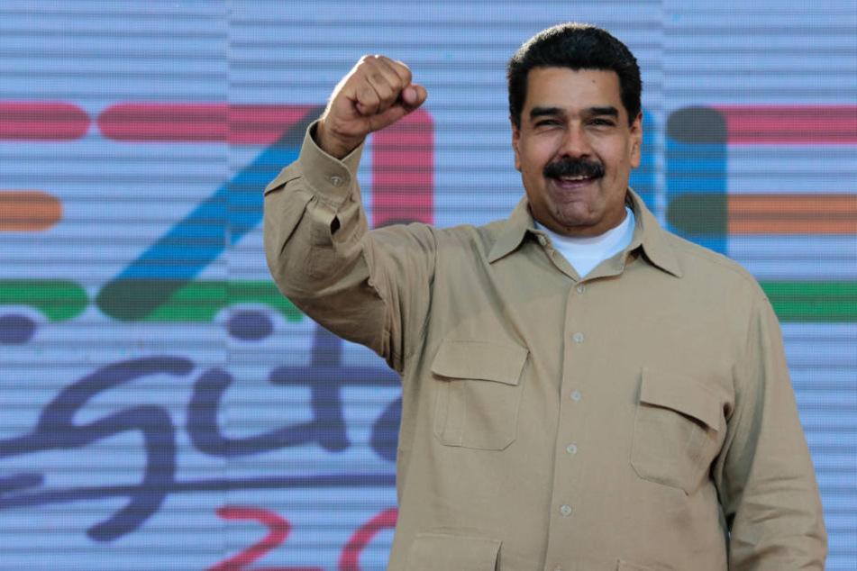 Venezuelas Präsidenten Nicolás Maduro (54) sehen viele als Hauptverantwortlichen für die Krise.