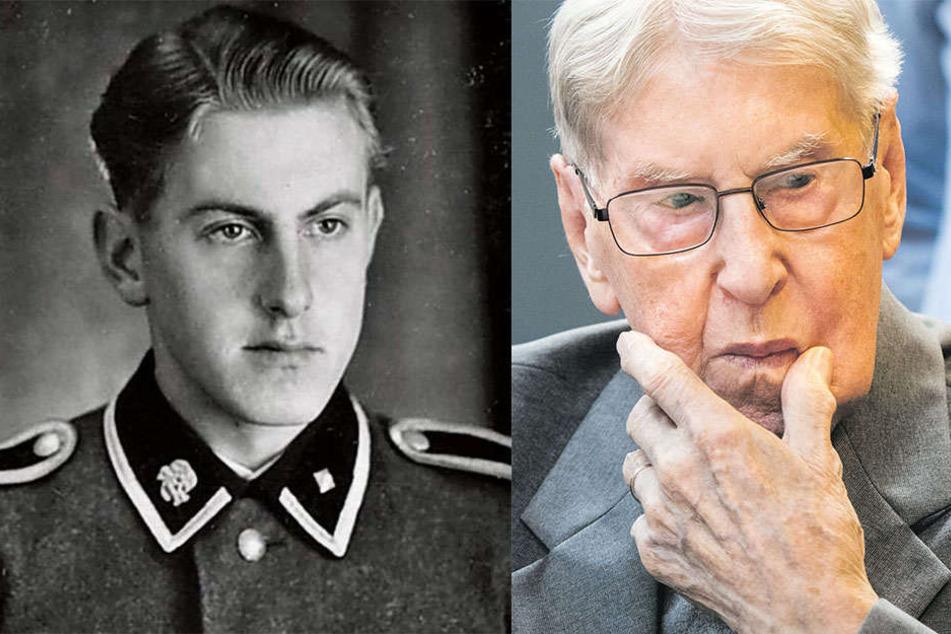 Vor gut einem Jahr stand SS-Mann Reinhold Hanning in Lage vor Gericht.