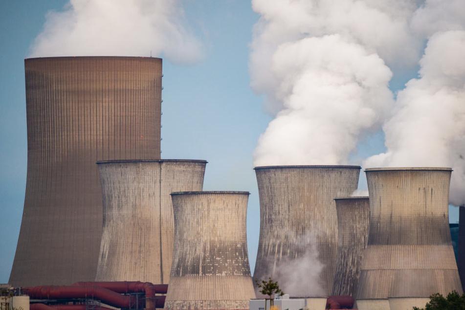 Das bislang stehende RWE-Kraftwerk in Niederaußem.