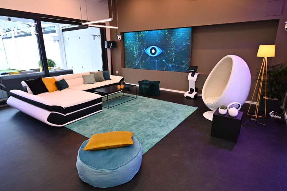 Eine Glashaus aus dem neuen Big Brother.