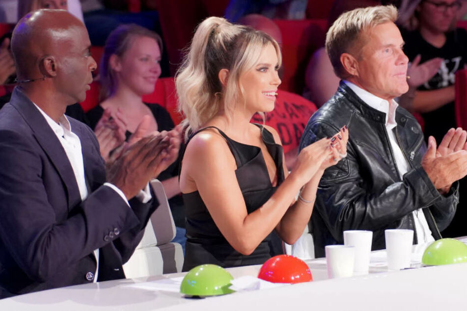 Gemeinsam mit Bruce Darnell und Dieter Bohlen saß Sylvie Meis in der Supertalent-Jury.