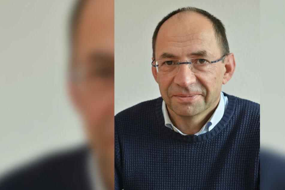 Raj Ullrich (54), Technischer Direktor der Chemnitzer Theater.
