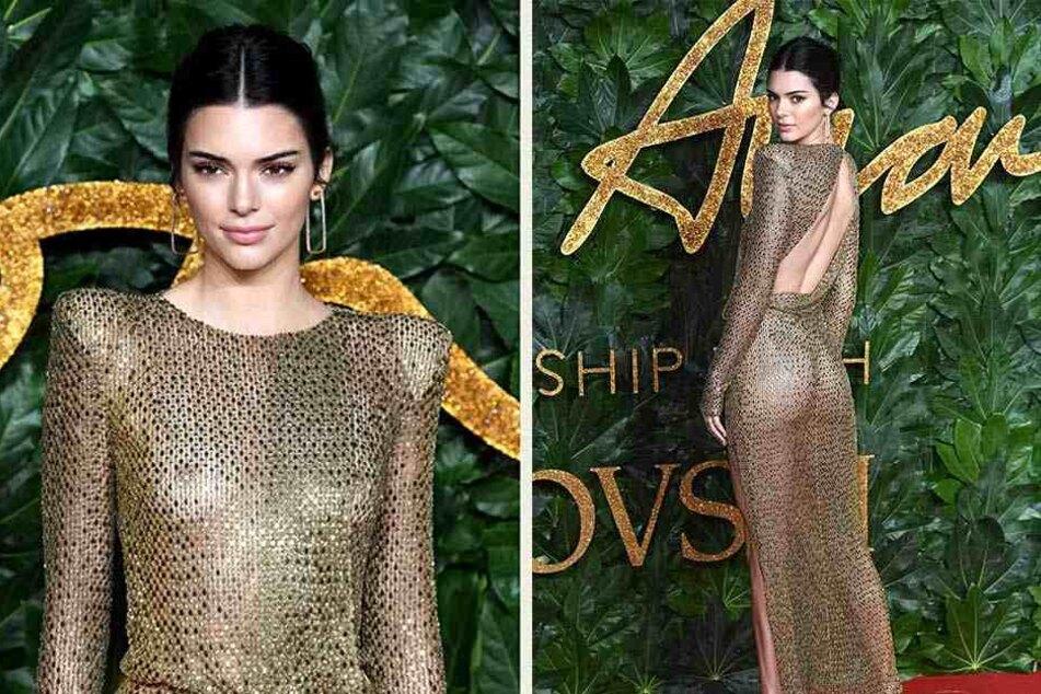 Kendall Jenner (23) legte mit ihrer knackigen Kehrseite einen atemberaubenden Auftritt hin.