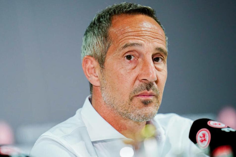 Ein Erstrunden-Aus wie in der vergangenen Saison will Eintracht-Trainer Adi Hütter auf alle Fälle verhindern.