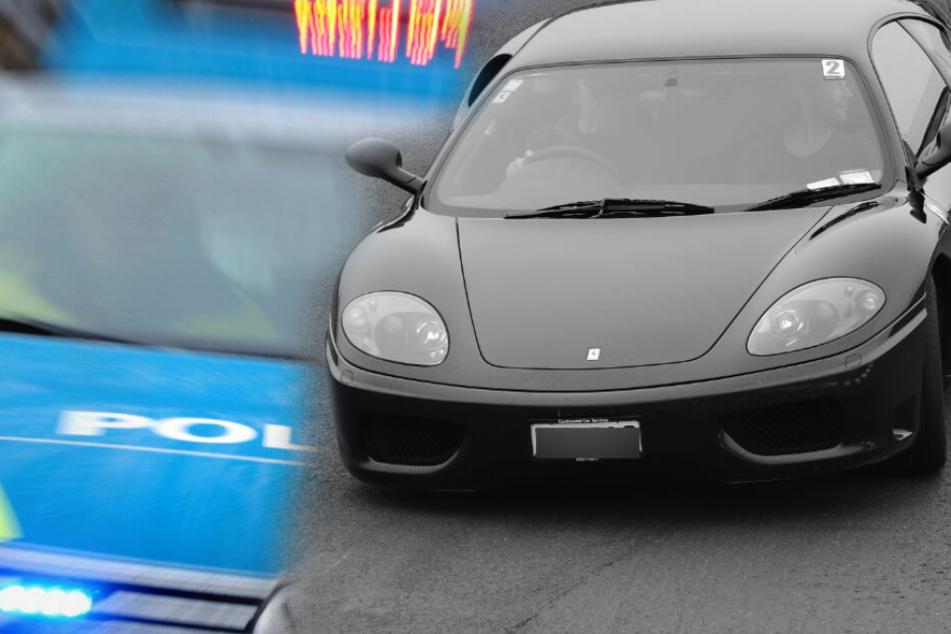 Illegales Autorennen? Porsche und Ferrari beschlagnahmt