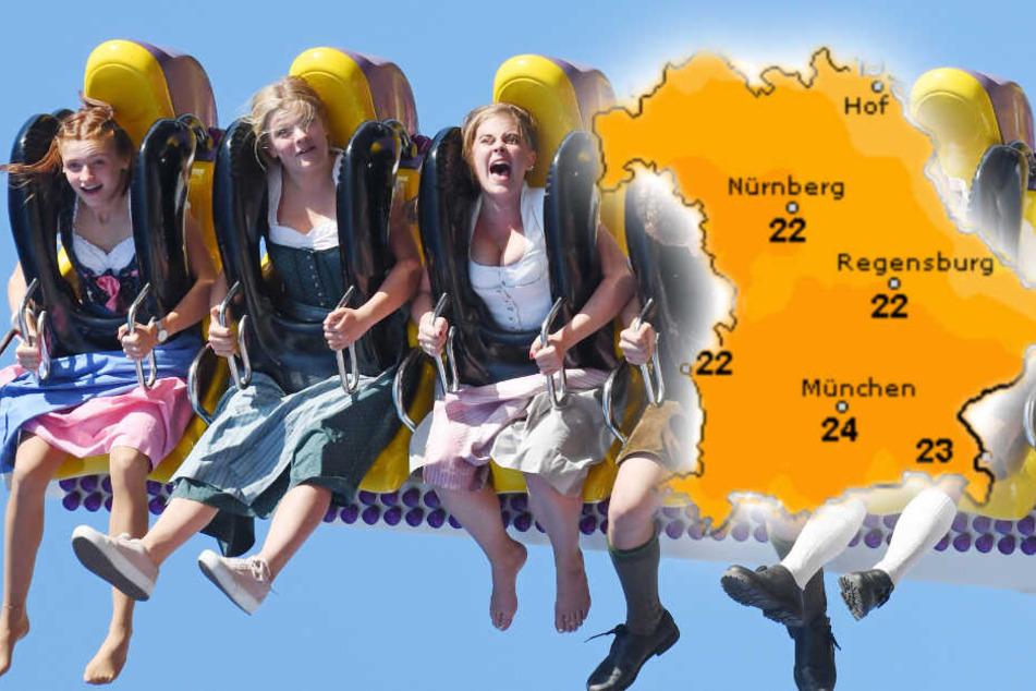 So wird das Wiesn-Wetter am Wochenende in München