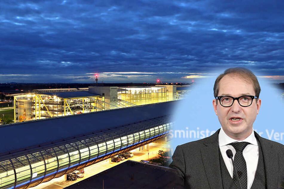 Das Konzept von Verkehrsminister Alexander Dobrindt nennt den Flughafen Halle/Leipzig in einem Atemzug mit großen Airports wie Frankfurt und München.