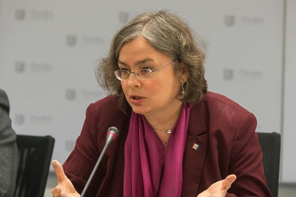 Ist für viele Maßnahmen im Luftreinhalteplan fachlich zuständig: Umweltbürgermeisterin Eva Jähnigen (52, Grüne).
