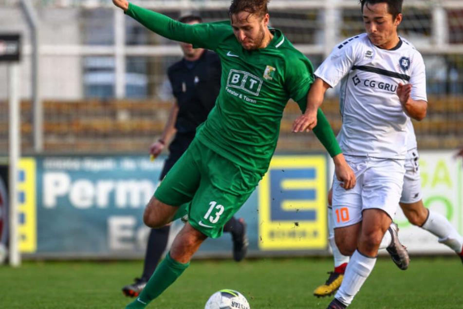 Beim Hinspiel im November trennten sich die beiden Leipziger Teams mit einem Unentschieden.